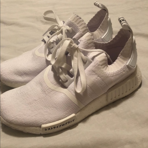 le adidas nmd r1 giappone triplo poshmark bianco